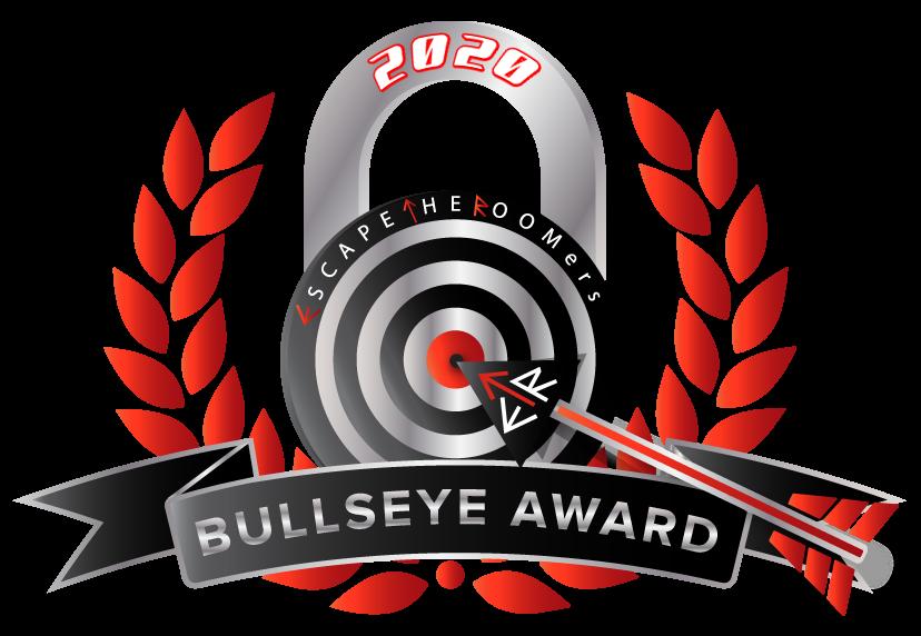 Bullseye Award Escapetheroomers