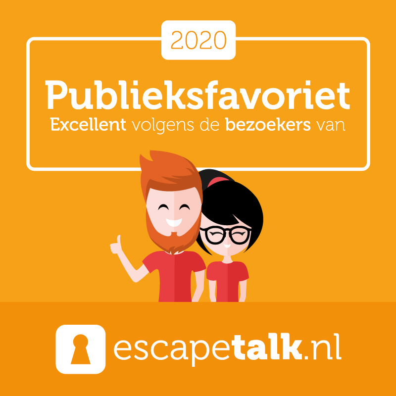 Escapetalk Publieksfavorieten 2020