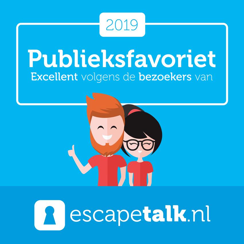 Escapetalk Publieksfavorieten 2019